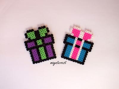 Regalo de Hama beads | Gift Perler beads | Pyssla