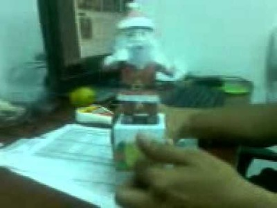 Santa Claus bailarin (papanoel que baila) PAPERCRAFT