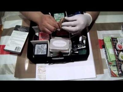Scrapbook para principiantes 7 : Tutorial stamping , parte I.
