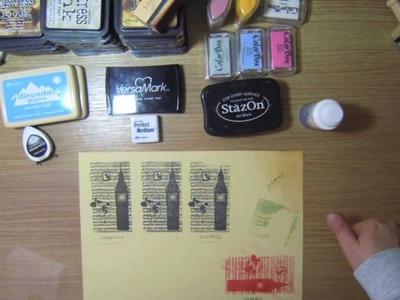 Scrapbooking: Tipos de Tintas