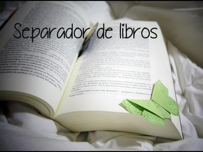 Separador de libros origami - Mariposa