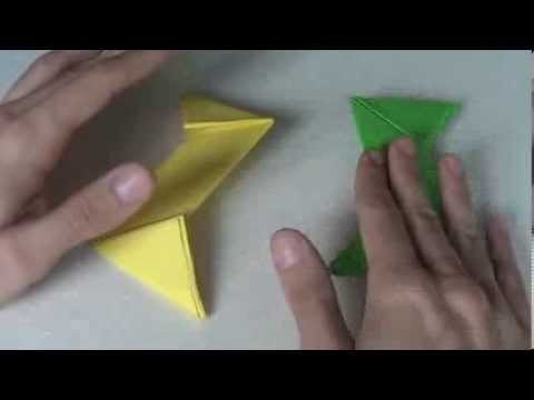 Shuriken Origami   Estrella Ninja de Papel