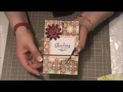 Tarjeta Persiana - Scrapbooking con Lily