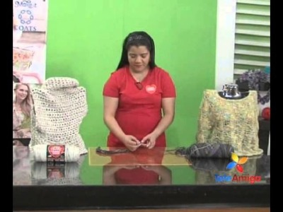Teleamiga Aprenda y Venda Crochet con los Dedos