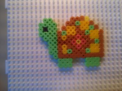 Tortuga con Hama Beads