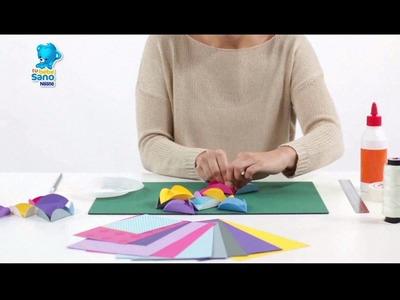 Tu Bebé Sano Perú - Movil de Origami