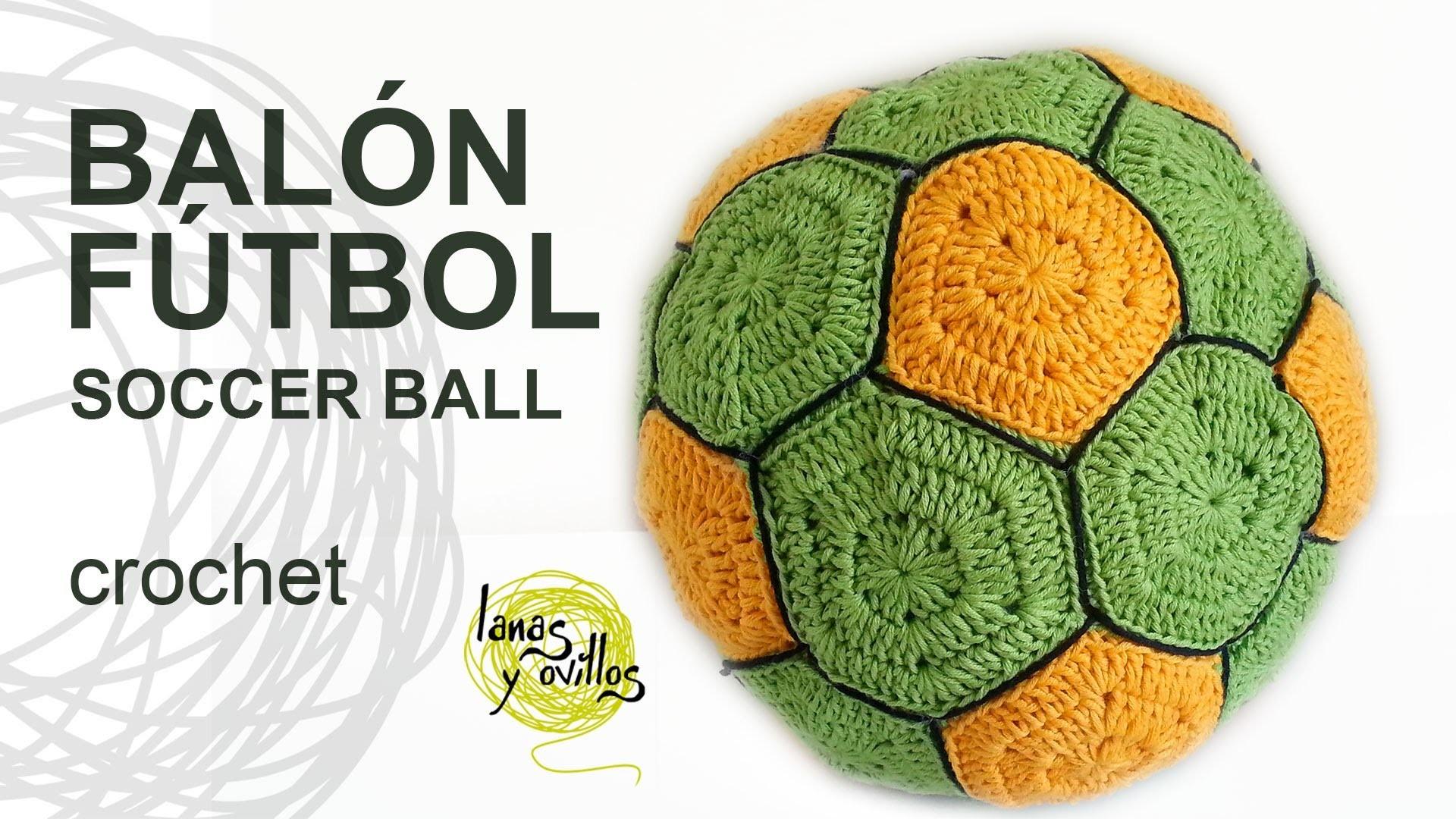 Tutorial Balón Fútbol Crochet o Ganchillo Ball Pelota