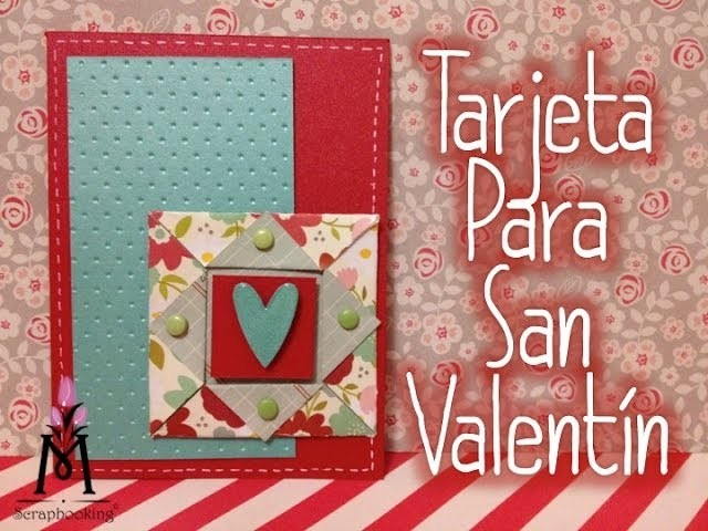 TUTORIAL Cómo hacer un adorno Tarjeta 14 febrero.Make your own embellishments Scrapbook