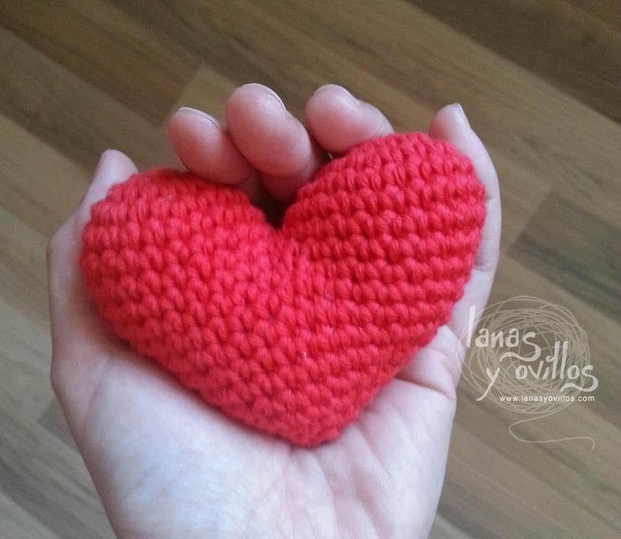 Tutorial Corazón Amigurumi Heart (English subtiltes)