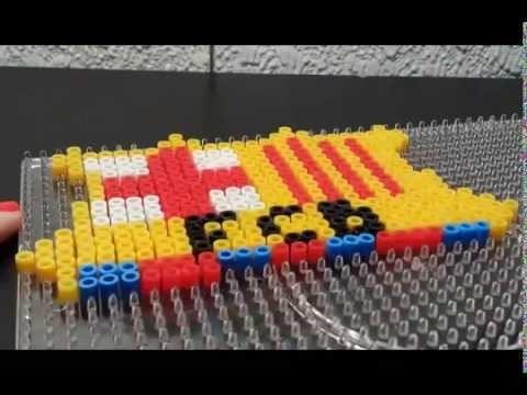 TUTORIAL: Escudo FC Barcelona de Hama Beads 1.2