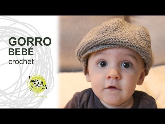 Tutorial Gorro o Boina Bebé Crochet o Ganchillo