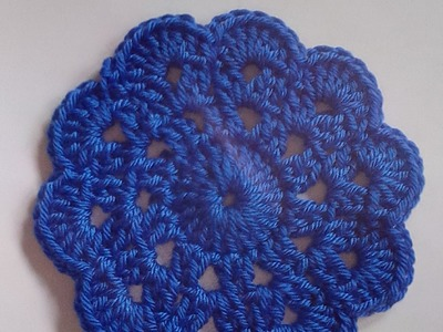 Tutorial posavasos fácil a crochet