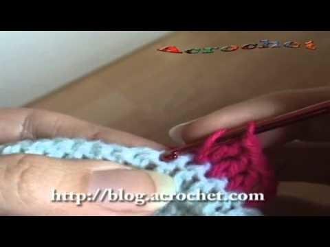 Haciendo una manta de ladrillos en crochet parte 1