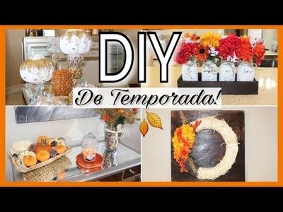 5 DIY PARA ESTA TEMPORADA!  BONITOS Y ECONOMICOS!