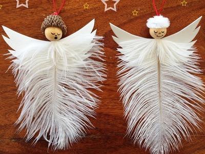 Adornos Navideños - Angelito Navideño - christmas ornaments Manualidades Para Todos