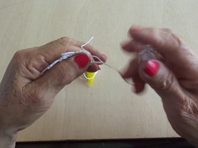 APRENDAMOS A TEJER FRIVOLIDAD LECCION 36 - WE LEARN TO KNIT FRIVOLITE LESSON 36
