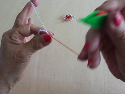 APRENDAMOS A TEJER FRIVOLIDAD LECCION 35 WE LEARN TO KNIT RIVOLITE LESSON 35