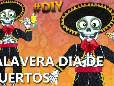 CÓMO HACER una CALAVERA para el DÍA DE MUERTOS | Manualidades para el 2 de noviembre