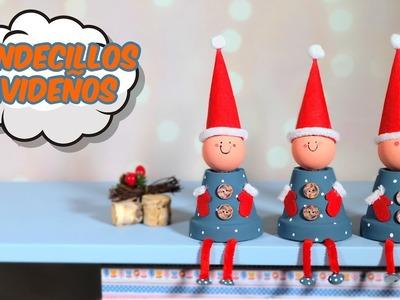 Decoración para Navidad. Duendecillos Navideños DIY