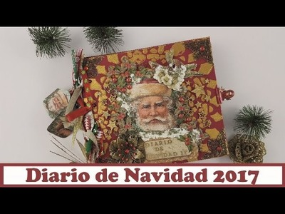 Diario de Navidad 2017,  colaboración con La Tienda de las Manualidades