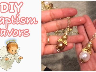 DIY Angel keychain favors. Como hacer llavero de angel || Yessliiz