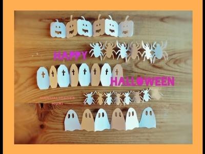 ???? DIY - Cadenetas Halloween. Guirnaldas para Decorar muy fáciles