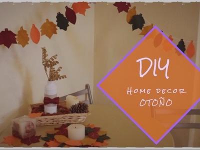 DIY decoraciones para el otoño ::: Fall home decor