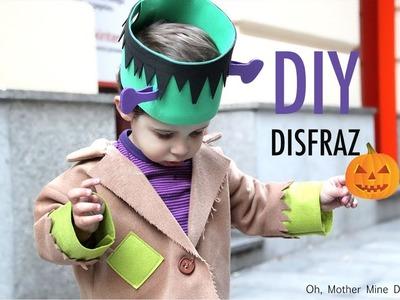 DIY Disfraz casero para niños: Frankenstein muy fácil