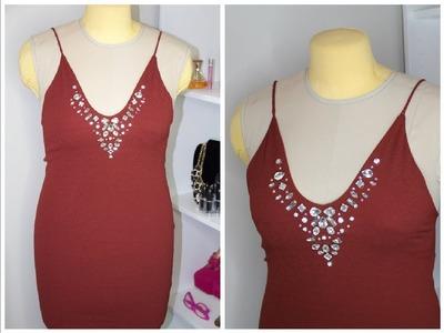 DIY Dress Lace Back. Vestido Espalda Descubierta