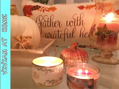 DIY FALL DECORATION IDEAS & THANKSGIVING.IDEAS  DECORACION DE OTOÑO.ACCION DE GRACIAS