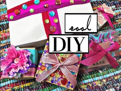 DIY - GIFT WRAPPING IDEAS