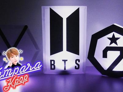 DIY K-POP : HAZ TU PROPIA LÁMPARA KPOP DE TU GRUPO FAVORITO EXO.BTS.GOT7 ????