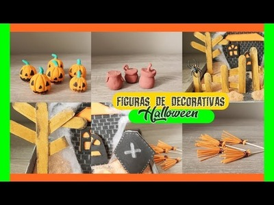 DIY mini figuritas para Halloween.  how make MINI FIGURINES