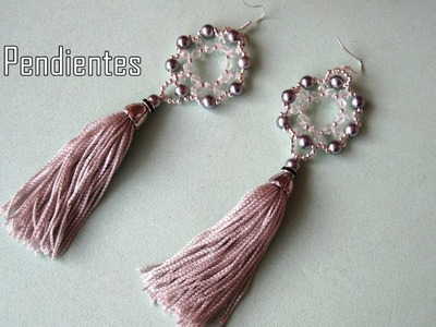 DIY - Pendientes de borla - DIY - Tassel Earrings