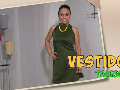 DIY Vestido Talego  Dress card- Omaira tv