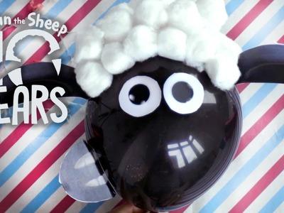 Haz tu propio globo Shaun - El Rincón de manualidades de Shaun