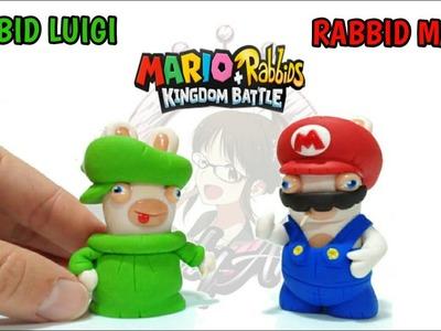 Mario & Luigi Rabbids | Kingdom Battle | Polymer Clay Tutorial