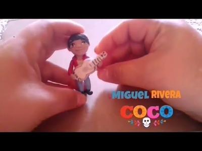 Miguel Rivera Disney  COCO. Porcelana fría. polymer clay