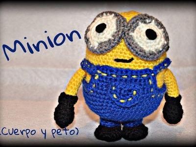 Minion (cuerpo y peto) || Crochet o ganchillo.