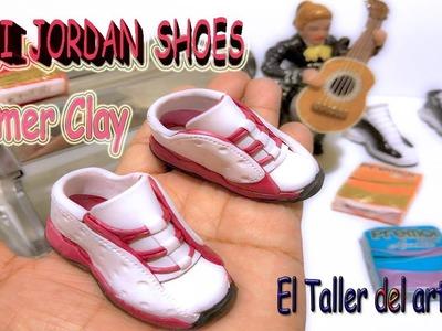 Polymer clay Mini Zapato Jordan Tutorial