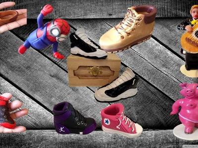 Polymer clay-Mini-Zapato-Jordan-Tutorial