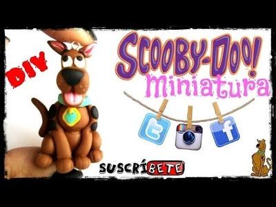 Scooby Doo Arcilla Polimerica | Plastilina | Fimo | Polymer Clay | Porcelana fria