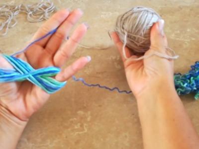 TIP DE TEJIDO (haz una madeja con tus manos)