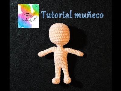 Tutorial muñequito con crochet