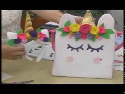 Unicornios en manualidades con Sonia Franco y Jurmi Leal 5.5