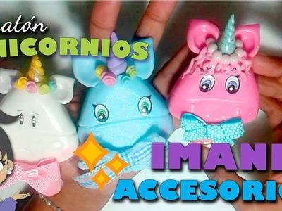 UNICORNIOS  Imantados Polymer clay, DIY- Ideas 3.5| Rosscromati