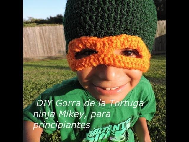 DIY Gorra de la tortuga ninja Mikey para pricipiantes