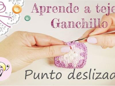 Aprende a tejer Ganchillo: Punto Deslizado o Corredizo - Fratxell -