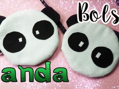 Bolsita de Panda fácil - Paso a paso DIY - Panda Bag.