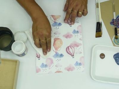 Caja Stencil  en Manualidades  con Claudia Enrìquez